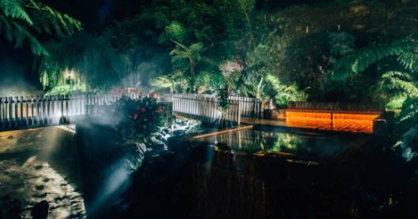 Furnas at Night Hot Springs & Dinner Private Tour
