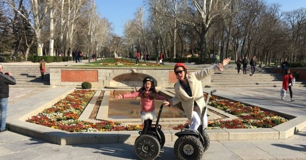 Madrid Exclusive Segway Private 2 Hour Tour