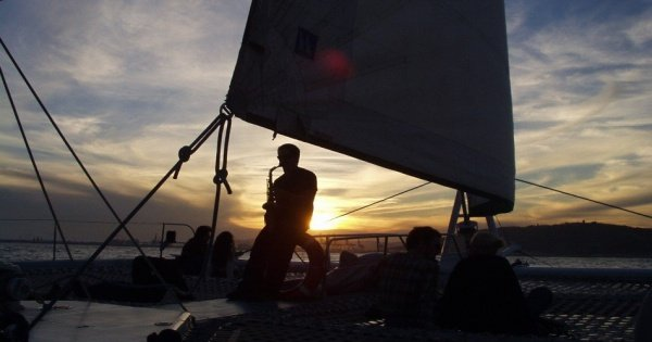 Sunset Cruise with Live Music from Barcelona