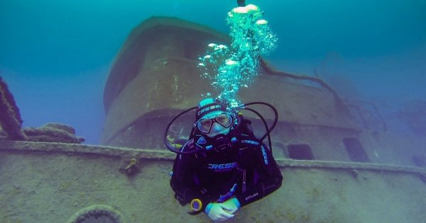 Two Dives in One Day for Certified Divers in Los Cristianos