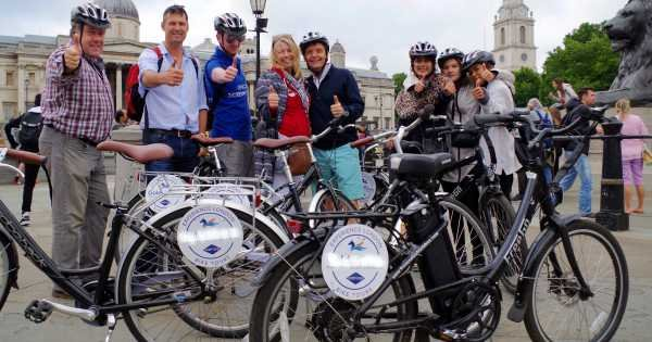 Royal Parks and Palaces Bike Tour of London - Electric Bike