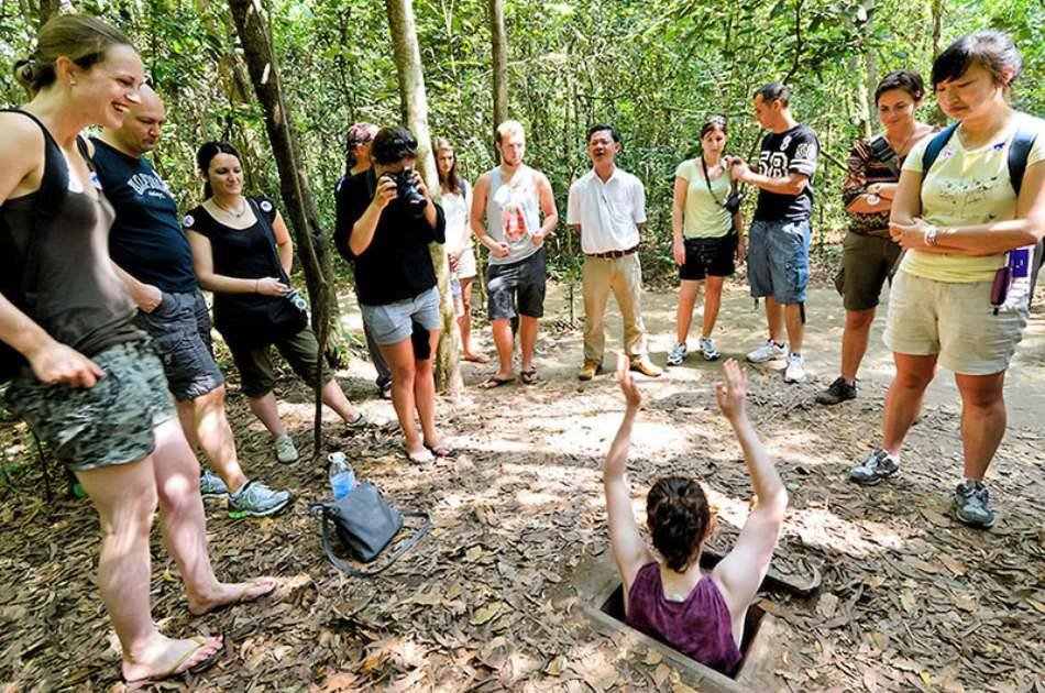 Cu Chi Tunnels Half Day Tour Joining Tour